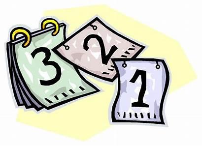 Countdown Clipart Clip Final Calendar Cliparts Library