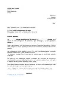Lettre De Résiliation Assurance Vie by Modele Lettre Resiliation Garantie Accident De La Vie