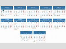 Calendario fiscal para autónomos 2019 Ser autónomo