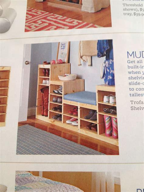 Mud Room Trofast Frames & Shelves From Ikea Great Idea