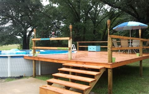 Gorgeous Ideas For Above Ground Pool Deck Plans With Images Wedding Diy Ideas Invitations Photo Frame Paper Mudroom Bench Lockers Home Projects Childrens Bedroom Storage At Weight Loss Wrap Easy Fall Decorations Hair Repair Treatment