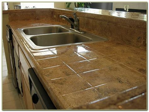 ceramic tile on countertops in kitchen ceramic tile kitchen countertops pictures tiles home 9394