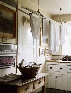 étendoir à Linge Intérieur : sechoir a linge suspendu au plafond maison design ~ Premium-room.com Idées de Décoration