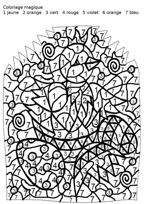 coloriage  dessiner magique cp syllabes