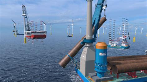 offshore wind tools huisman equipment