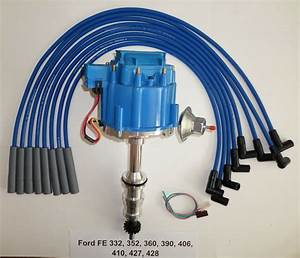 Ford Fe Hei Distributor 332 352 360 390 406 427 428   Blue