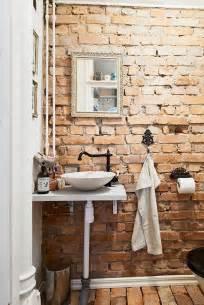Brick Wall Bathroom