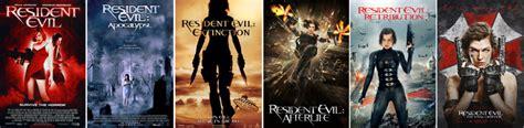 Resident Evil Order Resident Evil Movies Order