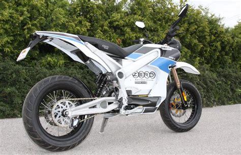 e motorrad zero zero e bikes modellnews
