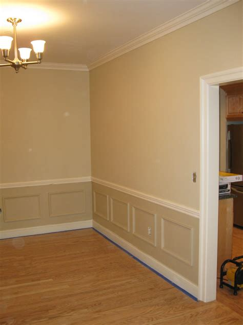 Installing Wainscoting by Installing Faux Wainscoting A Concord Carpenter