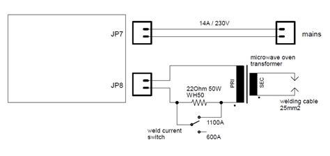 Circuit Diagram Microwave Oven