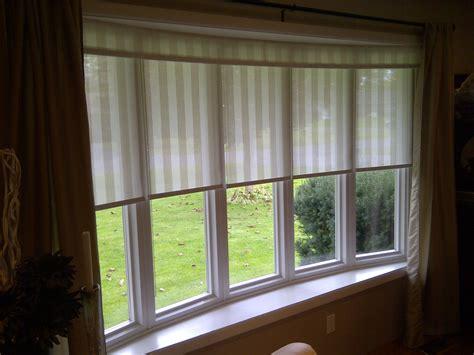 blinds  bay windows home interior design