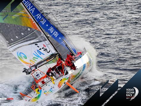volvo ocean race  sanya  desktop sailing
