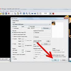 How To Print An Image Using Irfanview 5 Steps (with Pictures