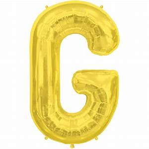 gold letter g 16 inch foil balloon With 16 inch gold letter balloons