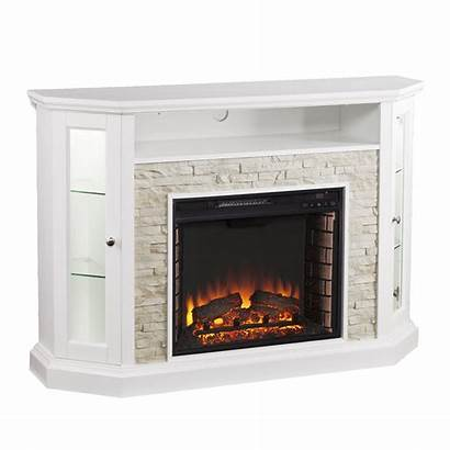 Fireplace Electric Corner Convertible Tv Southern Stand