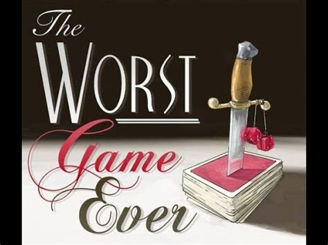 The Worst Game Ever Review  Board Game Brawl Youtube