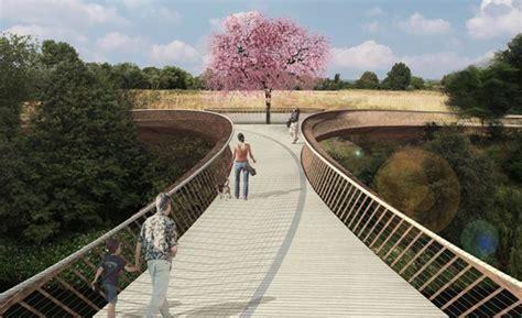 designers shortlisted  salford footbridge
