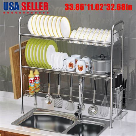 Product Of The Week Dish Rack Sink by 3 Tier The Sink Dish Drying Rack Shelf Stainless