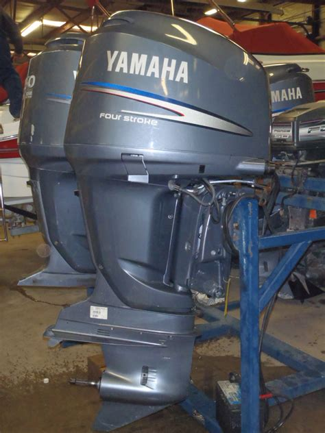 used 2006 yamaha f225txr 225hp 4 stroke remote outboard boat motor 25 quot shaft ebay