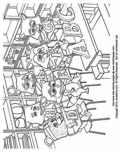 Coloring Class Classroom Colouring Rules Critters Sheets
