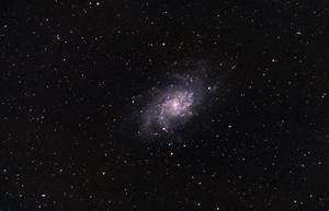M33 Galaxy - The Triangulum Galaxy