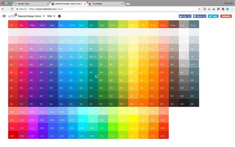 und colors updated quickly creating material design colours in