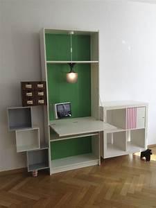 Ikea Schreibtisch Hack : ikea billy desk schwabinger 12 from saustarkdesign ~ Watch28wear.com Haus und Dekorationen