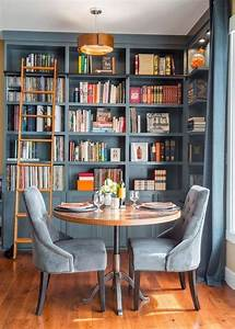 25, Stunning, Home, Library, Design, Ideas