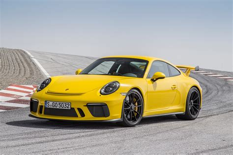 porsche gt3 2018 porsche 911 gt3 first drive review automobile magazine