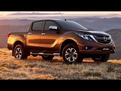 The New 2018 Mazda Bt50 Pro ☆ 4x4 Power Pickup Truck
