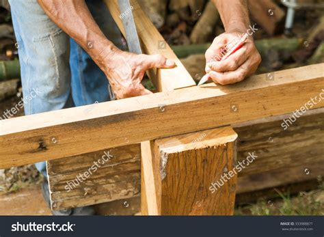 carpenter  measured  marked   timber