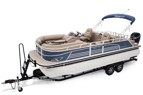 Bass Pro Shop Used Pontoon Boats by Regency 220 Le3 Sport Pontoon Boats New In Concord Nc Us