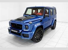 Brabus' 700 HP G63 AMG Combines Blue Paint and Red Leather