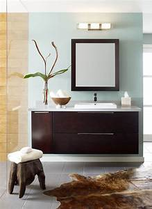 Simple Modern Wall Sconce Design For Bathroom Vanity