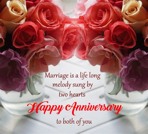 marriage   life long melody  happy anniversary
