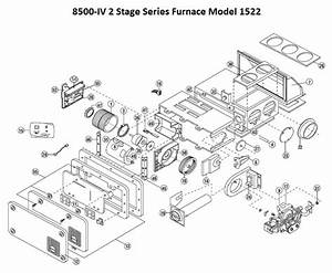 Hydro Flame Furnace Parts Diagram