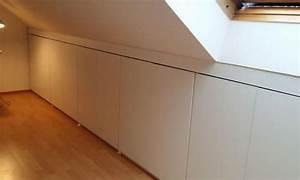 Billy Regal Dachschräge : die besten 17 ideen zu einbauschrank selber bauen auf ~ Lizthompson.info Haus und Dekorationen