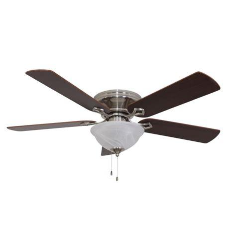 sahara fans bennington 52 in brushed nickel ceiling fan