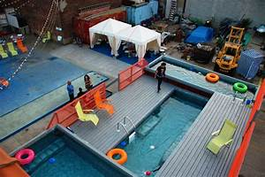 Pool Aus Container : dumpster pools a refreshing new take on pool design going green ~ Orissabook.com Haus und Dekorationen