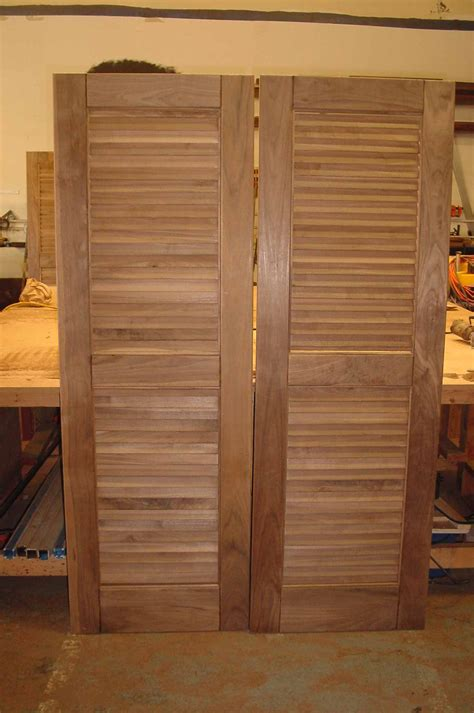 walnut louver doors