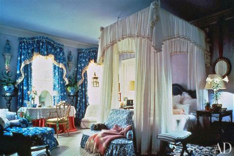 Mario Buatta's Romantic Bedrooms  Architectural Digest