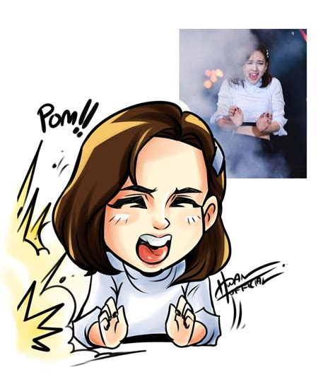 "Hwan On Twitter ""nayeon Chibi Ver #twice #nayeon…"