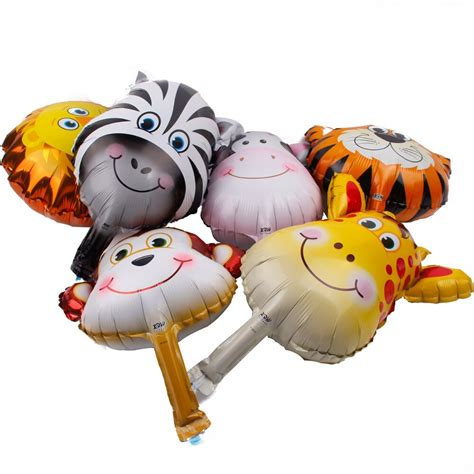foil animal helium balloon party happy birthday balloon