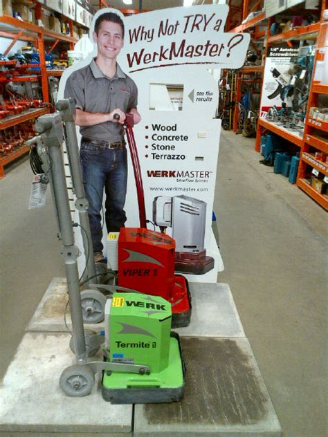 home depot floor rental home depot tool rental expands into more provinces with werkmaster equipment