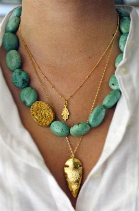 style  turquoise jewelry trend fab fashion fix