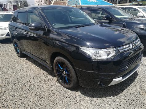 Mitsubishi Outlander 2013 Black in Nairobi Central - Cars ...