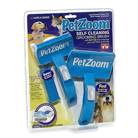 As Seen On Tv Bed Bath And Beyond by As Seen On Tv Petzoom Self Cleaning Grooming Brush Bed