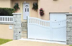 Installer Un Portail : installer un portail quel mat riau choisir bricolage ~ Premium-room.com Idées de Décoration
