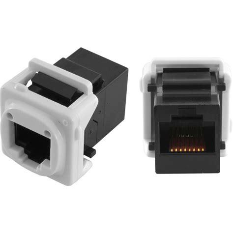 te pk4520 dual cat5e mechanism socket rj45 joiner keystone radio parts electronics components